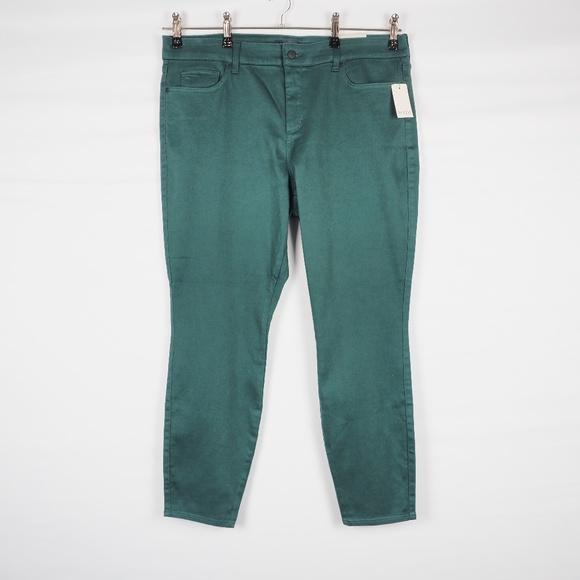 ddd1b3d2f0584 NYDJ Jeans | Nwt Ami Skinny Legging Green 18w | Poshmark